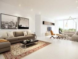 Simplex Apartment Living Room