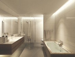 Typical Apartment Master Bathroom