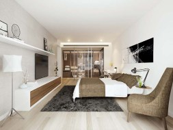 Typical Apartment Master Bedroom